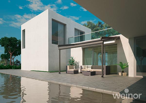 domest stores pergola oasis de verre. Black Bedroom Furniture Sets. Home Design Ideas
